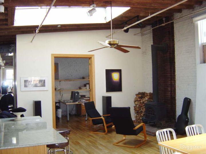 Soho loft and artists studio: Location 4135 Photo 3
