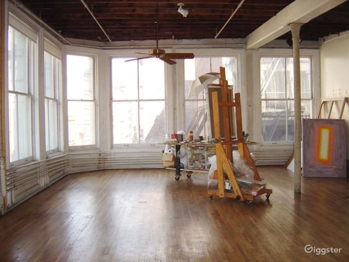 Soho loft and artists studio: Location 4135 Photo 5