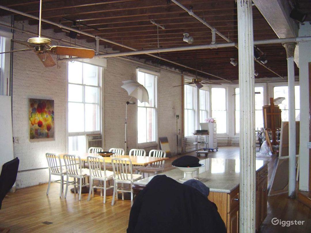 Soho loft and artists studio: Location 4135 Photo 1