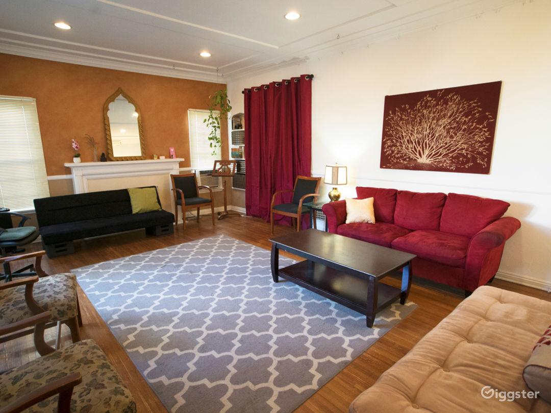 Living Room Modern Side