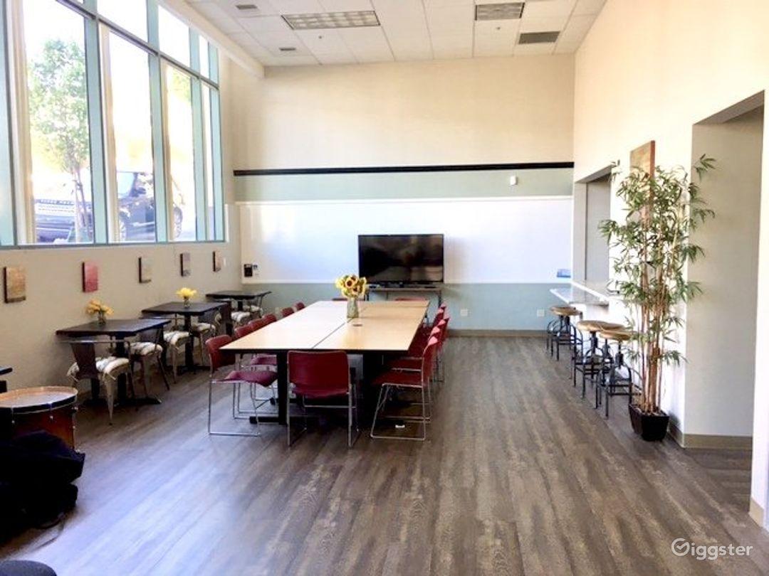 Spacious and Warm Cafe Venue in San Rafael Photo 1