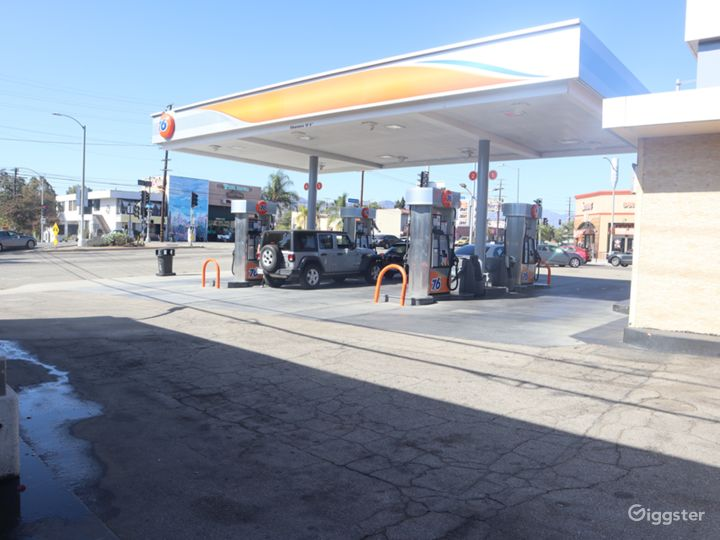 Gas Station for filming  Photo 2