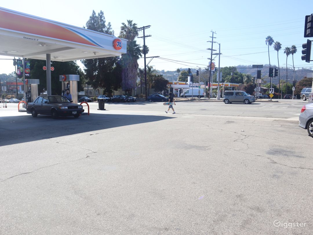 Gas Station for filming  Photo 1