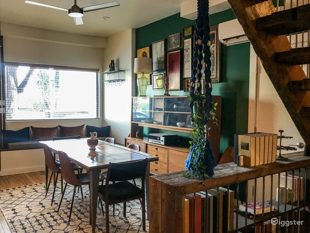 Industrial/Americana-Inspired Storefront Row House Photo 1