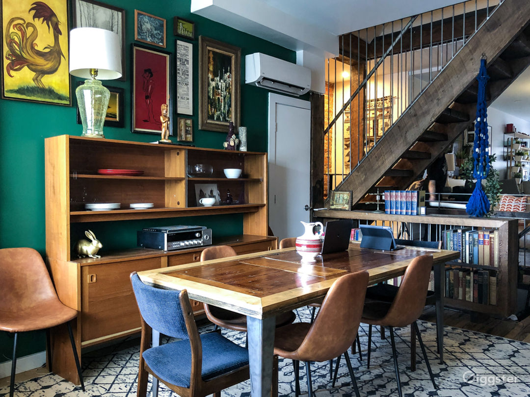 Industrial/Americana-Inspired Storefront Row House Photo 2