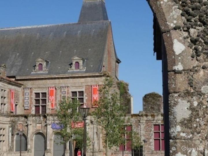 Renaissance Castle Courtyard  Photo 3