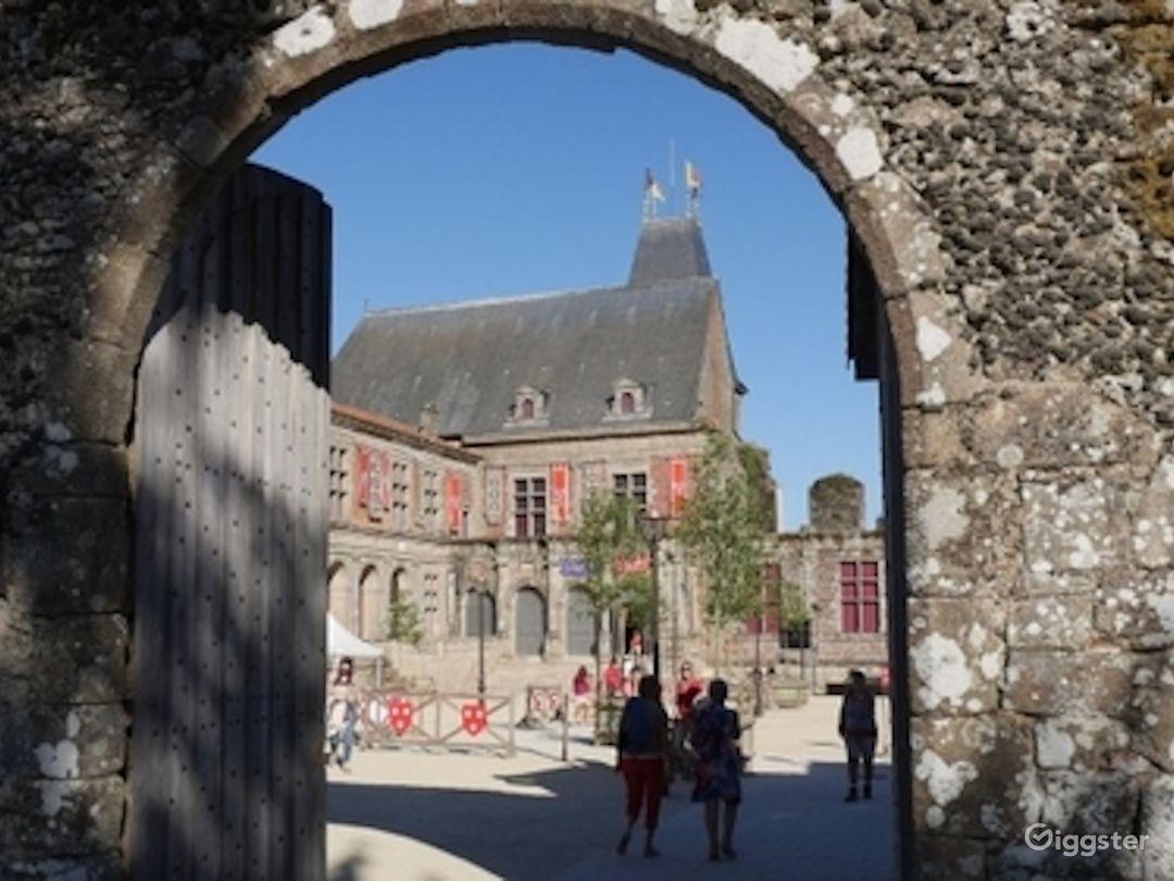 Renaissance Castle Courtyard  Photo 1