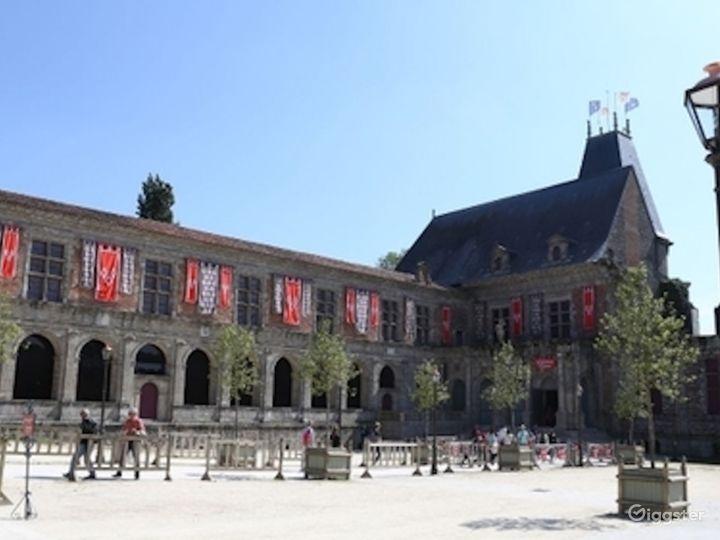 Renaissance Castle Courtyard  Photo 2