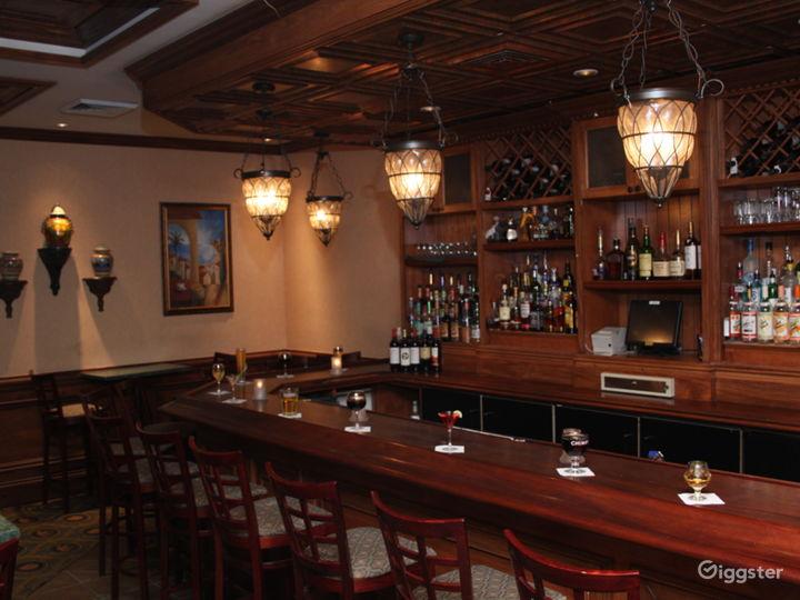 bar in restaurant area