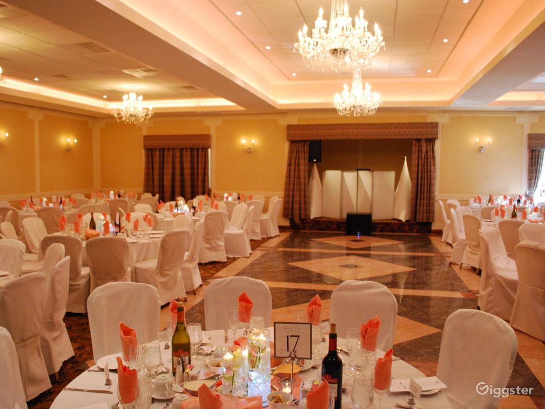 200 seat banquet room