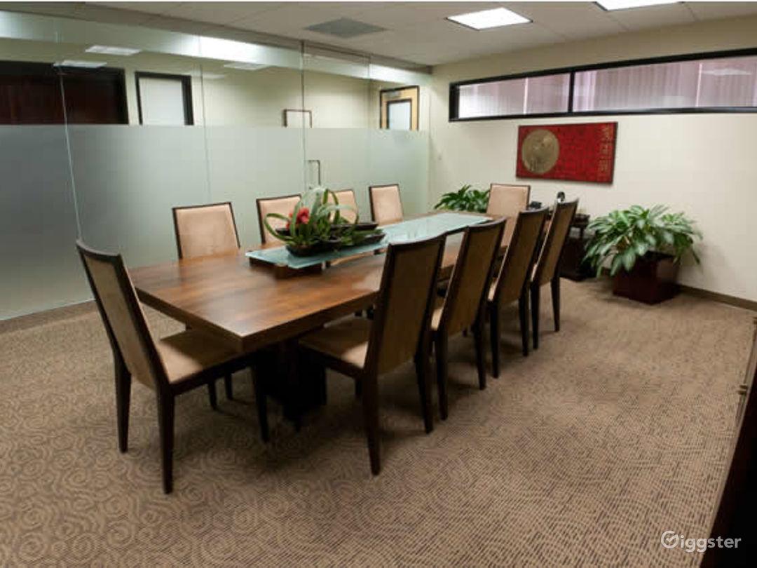 Modern Meeting Room in Newport Beach Photo 1