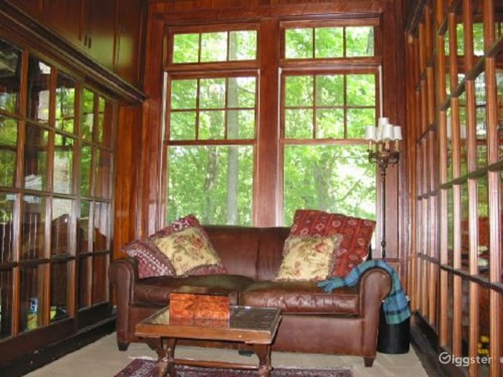 Traditional rural home with patio: Location 3153 Photo 2