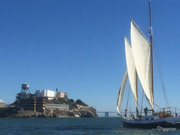 San Francisco Tall Ship Sailing Yacht for up to 49 Photo 4