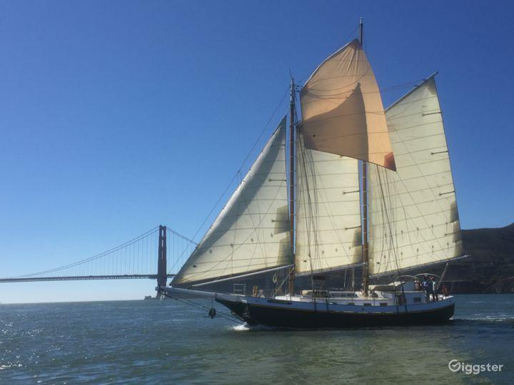 San Francisco Tall Ship Sailing Yacht for up to 49