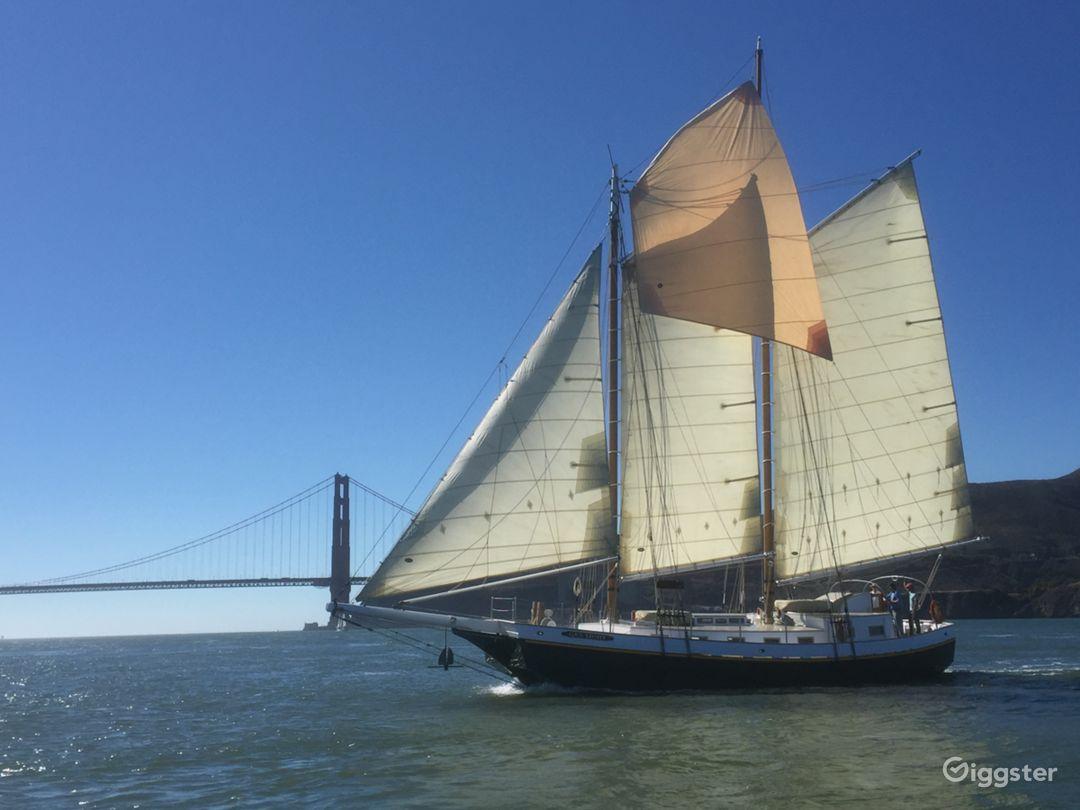 San Francisco Tall Ship Sailing Yacht for up to 49 Photo 1
