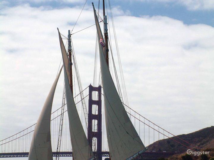 San Francisco Tall Ship Sailing Yacht for up to 49 Photo 3