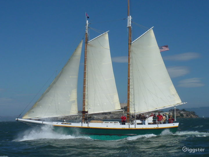 San Francisco Tall Ship Sailing Yacht for up to 49 Photo 5