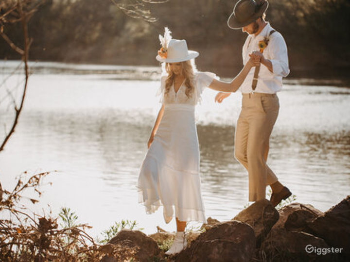 River Portraits and Beyond with Texas Hill Country backdrops Photo 3