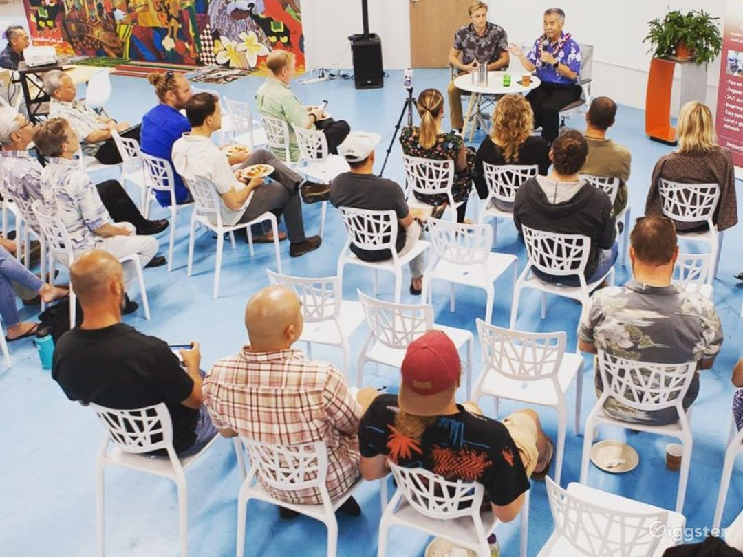 Perfect Space for Large Events, Films, Talks Photo 1