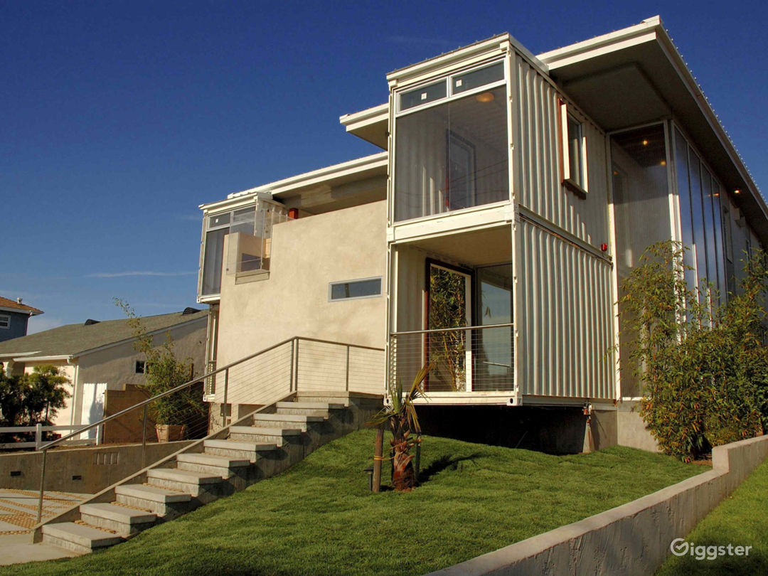 Shipping Container House Photo 2