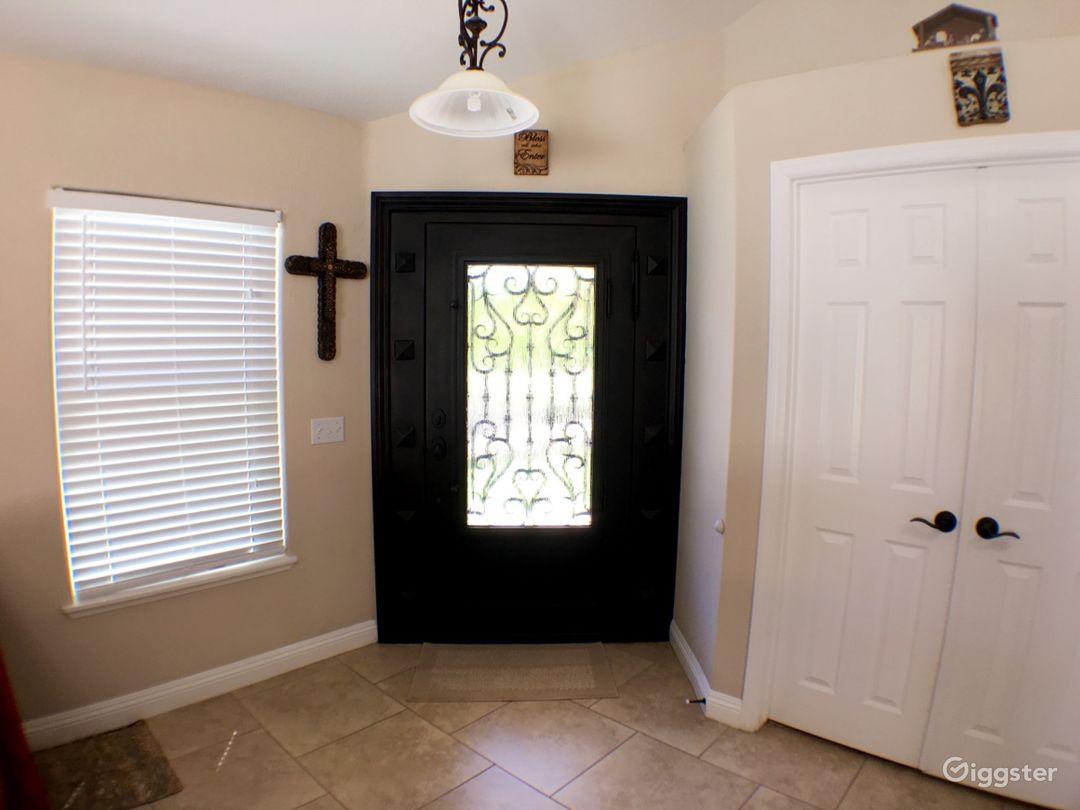 Custom Iron front door