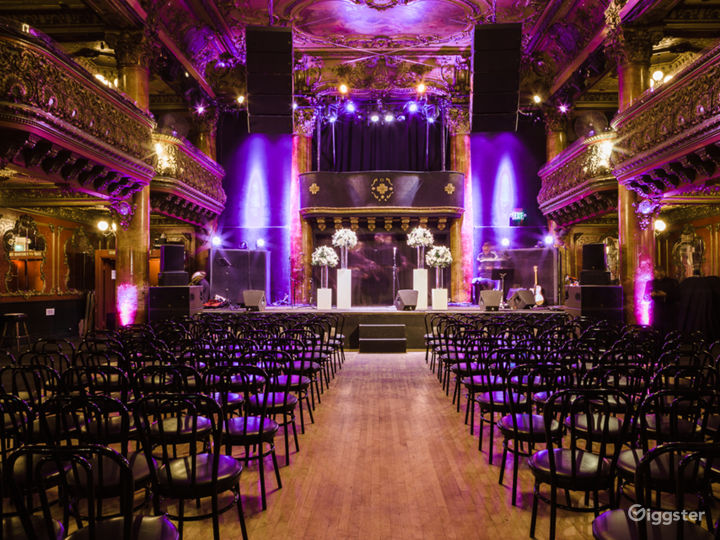 Music Hall for Events
