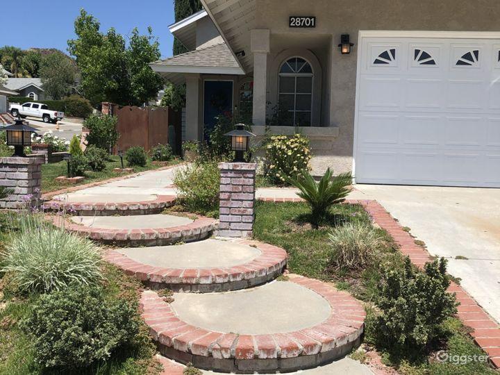 Brick Lined Walkway