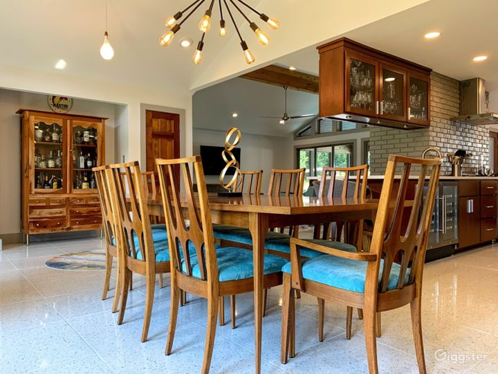 Foyer, Dinning, Living and Kitchen