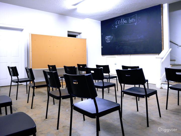 Classroom/ Greenroom