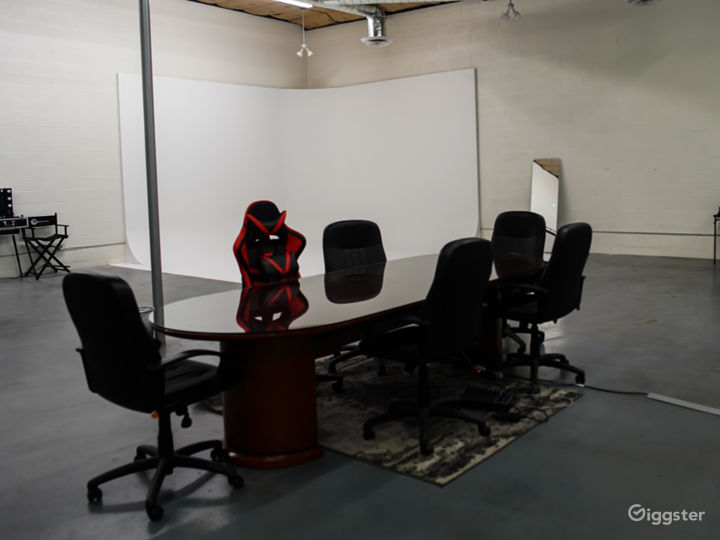 Use of conference table can be included.