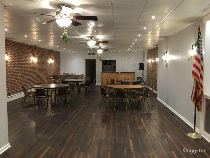Classic Bklyn Social Hall w/ patio & basement bar