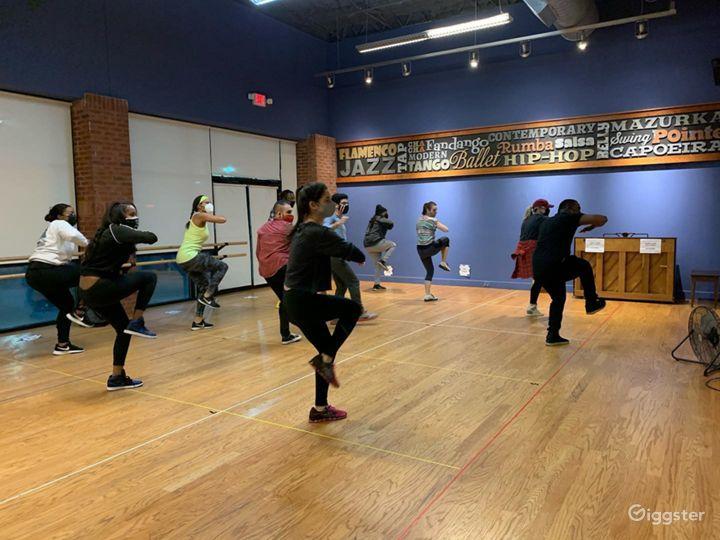 Dance Studio 1 with Hardwood Floor Photo 5