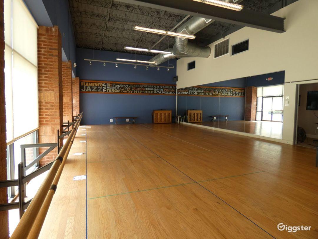 Dance Studio 1 with Hardwood Floor Photo 1