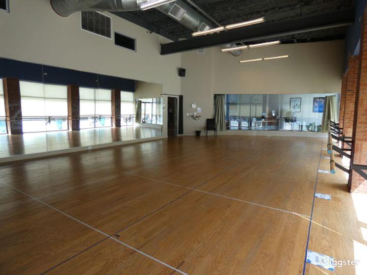 Dance Studio 1 with Hardwood Floor Photo 3
