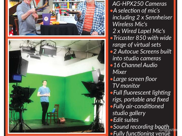 Latest TV and Recording Studio in Central Brighton Photo 5