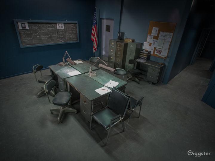 POLICE STATION - Standing Set | FilmStudioLA