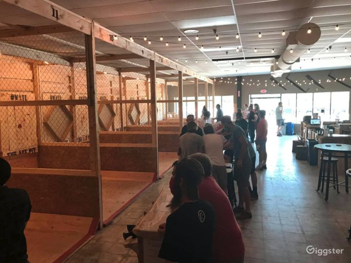 Spacious Axe Throwing Event Space in South Portland Photo 3