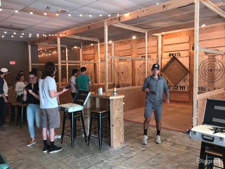 Spacious Axe Throwing Event Space in South Portland Photo 5