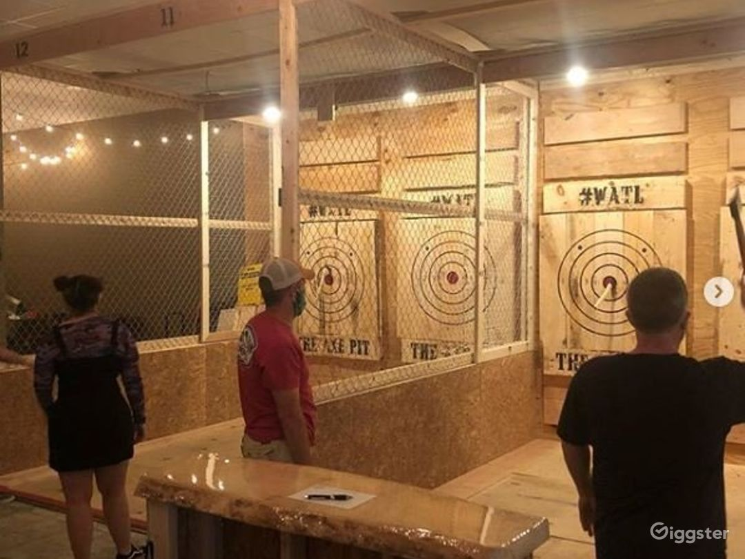Spacious Axe Throwing Event Space in South Portland Photo 1