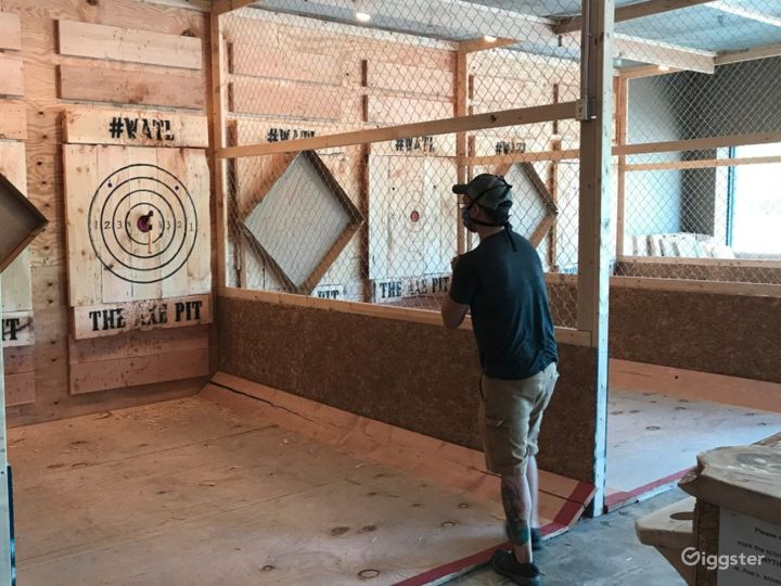 Spacious Axe Throwing Event Space in South Portland Photo 2