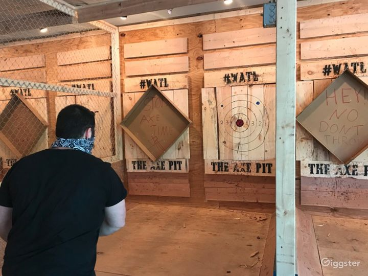 Spacious Axe Throwing Event Space in South Portland Photo 4