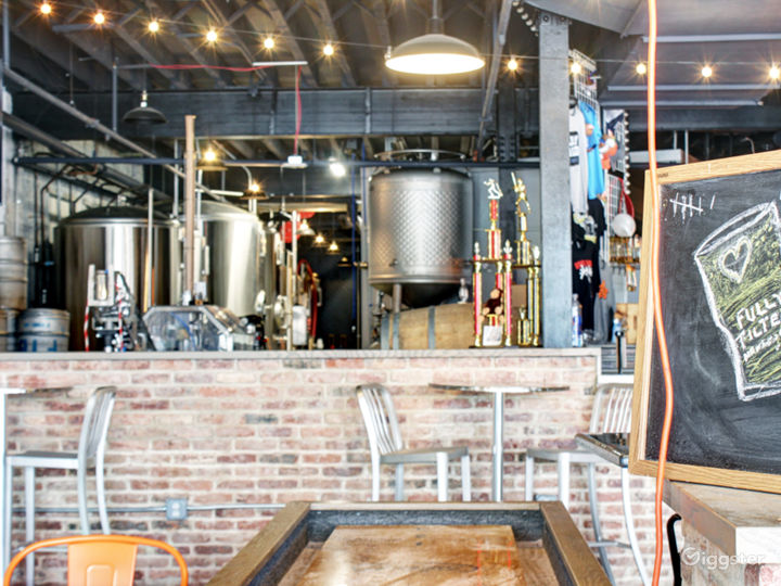 View of Brewery from Taproom