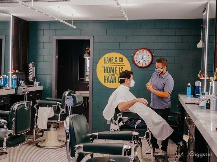 Beautiful art-deco salon / barbershop  Photo 5