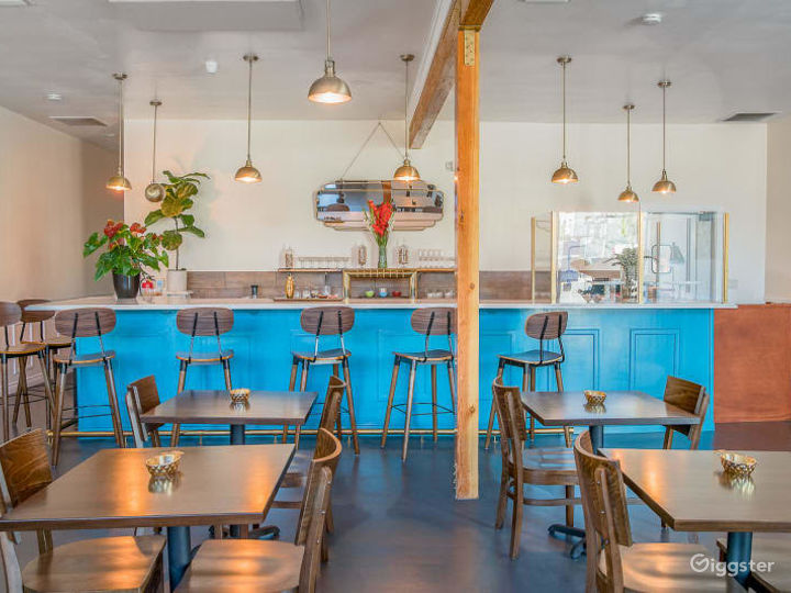 Dynamically Superb Restaurant in Los Angeles Photo 2