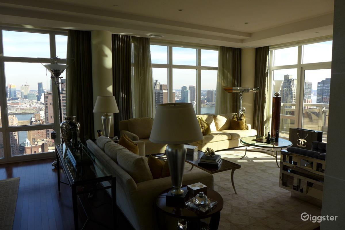Rent The Apartment, Loft Or Penthouse(residential) Penthouse With Spectacular  NYC View For