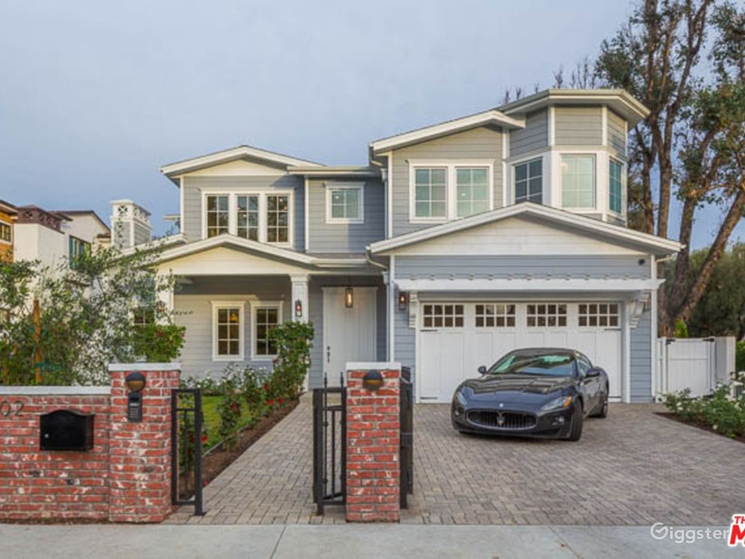Exterior and interior with tree lined streets, corner lot and  recently redesigned front landscaping.