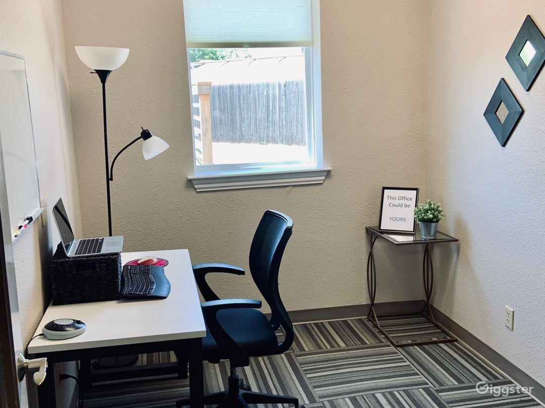 Eclectic & Rustic Vibe Private Office Photo 1