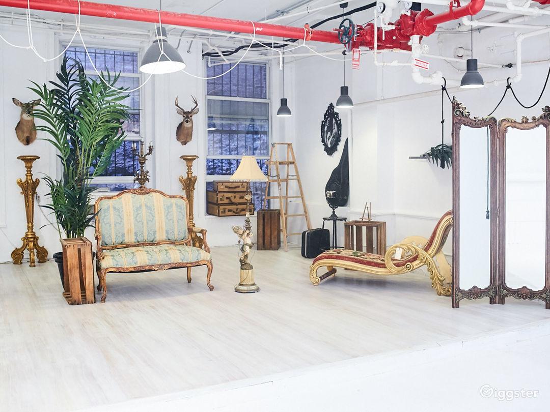 Photo Studio with Euro Chateau Furniture Props Photo 1