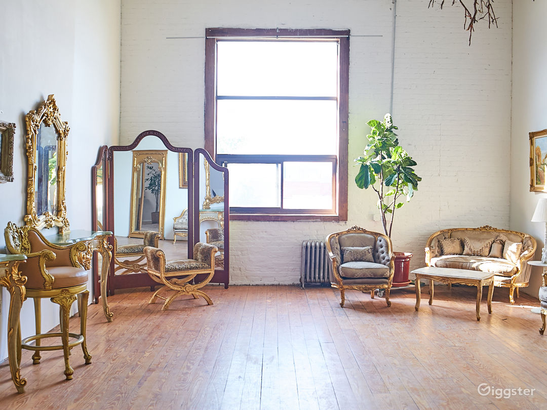 Photo Studio with Euro Chateau Furniture Props Photo 5