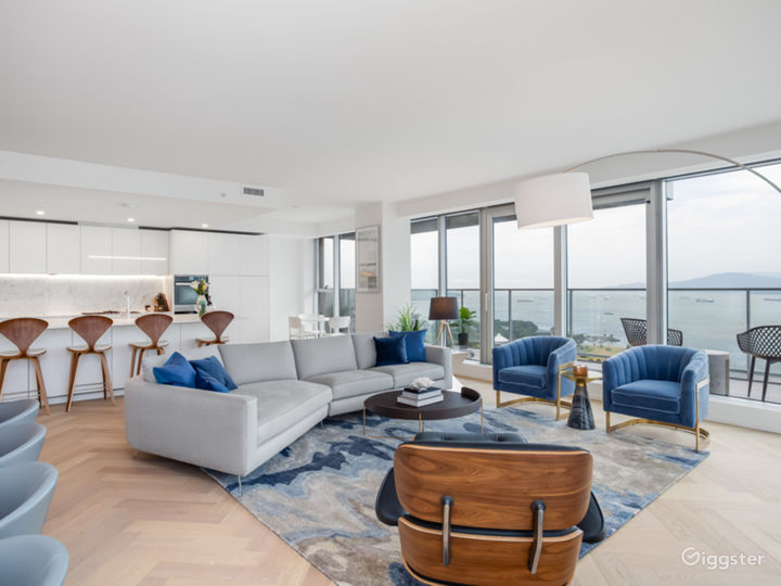 The Blue Home with Ocean Views Photo 2